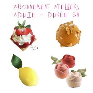 Abonnement Atelier Adulte - Durée 3h