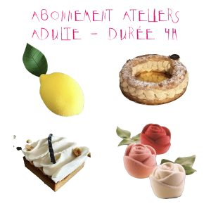 Abonnement Ateliers Adulte - Durée 4h