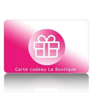 Carte Cadeau La Boutique