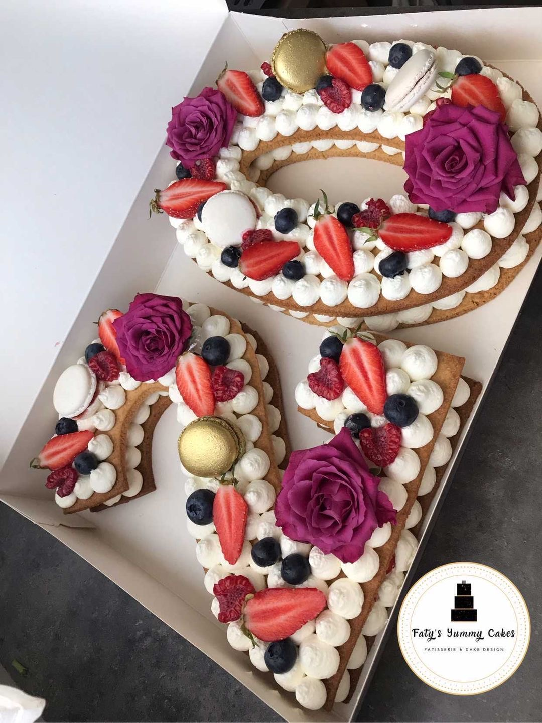 Atelier Number Cakes by Faty's Yummy Cakes